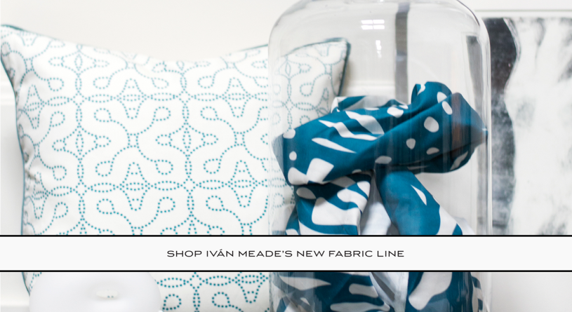 SHOP IVAN MEADE'S NEW FABRIC LINE