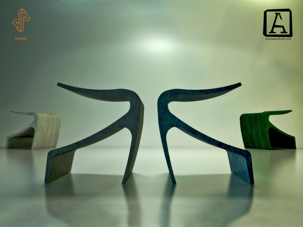 Concrete Bench Arostegui Studio