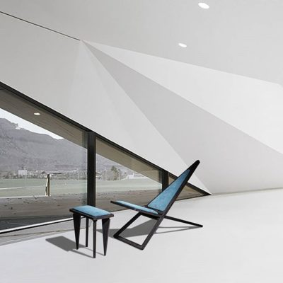 Charlie Pommier Triangle Chair lifeMstyle