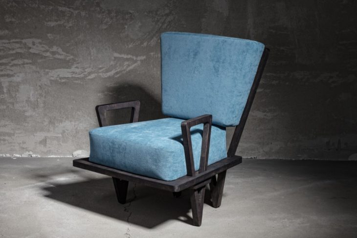 Charlie Pommier Triangle Armchair lifeMstyle