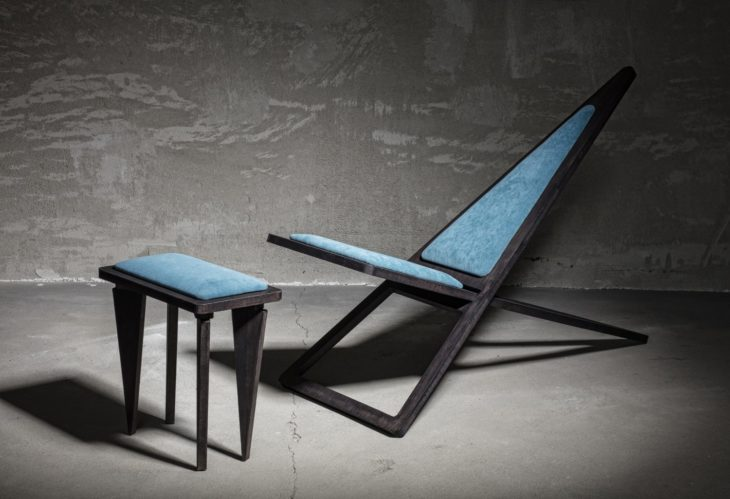 Charlie Pommier Triangle-Lounge-Chair lifeMstyle