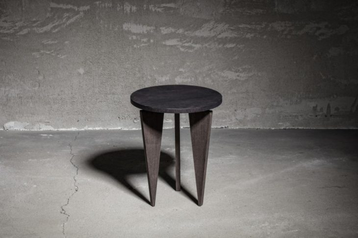 Charlie Pommier Triangle-Side-Table lifeMstyle