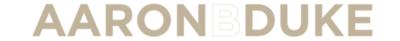 Aaron B Duke Logo lifeMstyle